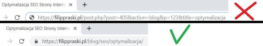 Przyjazne adresy URL dla wyszukiwarek